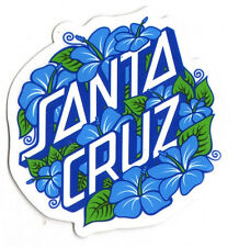 Santa Cruz Skateboard / Surf Sticker - surfing skating sk8 skate 8cm wide approx