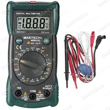 Mastech MS8233C Digital Multimeter Voltage Resistance Temp. Meter Back-lit B0268