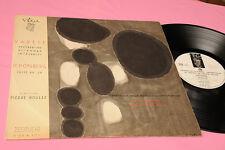VARESE SCHONBERG LP LES CONCERTS DU DOMAINE MUSICAL CONTEMPORARY AVANT GARDE MUS