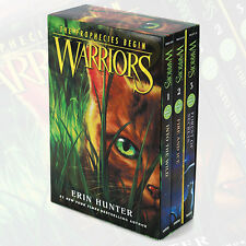 Warriors: The Prophecies Begin Collection 3 Books Box Set by Erin Hunter English