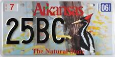 Targa USA ARKANSAS  The Natural State License Plate Replica - Plaque Américaine