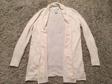 Women's Neiman Marcus Cashmere Cardigan Sweater (No Buttons), Size Small