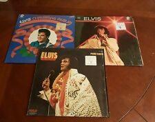 Very Rare Elvis Presley lot of 3 Memphis TN w/Goldsmith's Dept Store in Shrink
