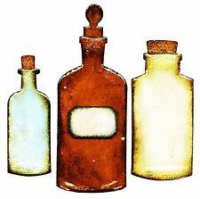 Sizzix Bigz Apothecary Bottles die #658715 Retail $19.99 designer Tim Holtz!!