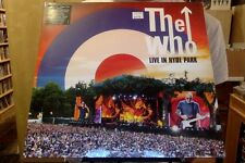 The Who Live in Hyde Park 3xLP sealed 180 gm vinyl + DVD
