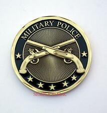 MP US ARMY MILITARY POLICE CHALLENGE COIN LAW ENFORCEMENT DUTY HONOR GIFT WOW
