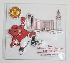▓ MANCHESTER UNITED WHITE  FRIDGE / REF MAGNET COLLECTIBLE SOUVENIR
