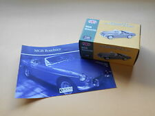 MGB Roadster 1/43 Scale model - Atlas Classic Sports Cars series, Mint & Boxed