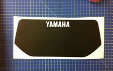 Yamaha xt600 43 f 83/86 tabella moto bianca - adesivi/adhesives/stickers/decal