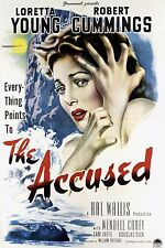 THE ACCUSED DVD-r 1949 Robert Cummings,Loretta Young