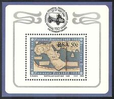 RSA/South Africa 1988 Dias/Martellus Map/Ships/Explorers/StampEx 1v f/s (b1312)