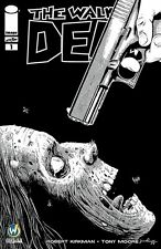 Walking Dead Wizard World ComiCon Pittsburgh Exclusive Variant BW Cover Jim Rugg