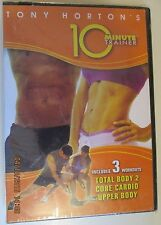 2008 10 Minute Trainer Beachbody Tony Horton new sealed 3 workout DVD