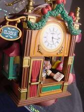 NEW ENESCO Mouse Watchmaker IT'S TIME FOR CHRISTMAS Ornament Clock SHOP MIB Mice