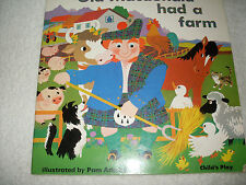 Kids fun paperback:Old MacDonald Had A Farm-classic farm song+cutouts inside bk!