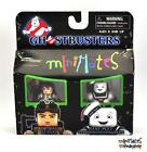 Ghostbusters Minimates TRU Wave 2 Dr. Ray Stantz & Stay Puft Marshmallow Man
