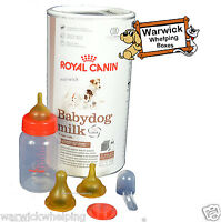 ROYAL CANIN 400 GRAM BABY DOG PUPPY MILK KIT WHELPING WITH BOTTLE & TEATS