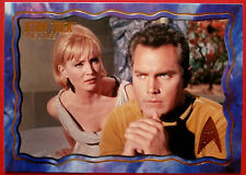 "STAR TREK TOS 50th Anniversary - ""THE CAGE"" - GOLD FOIL Chase Card #28"