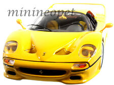 BBURAGO 18-16004 FERRARI F-50 F50 1/18 DIECAST MODEL CAR YELLOW