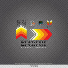 0389 Peugeot HLE Premiere Bicycle Frame Stickers - Decals - Transfers
