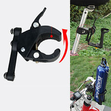 Bike Bicycle Cycling Water Bottle Cage Holder Clip Clamp Seat Post Bracket Mount