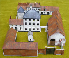 HOUGOMONT CHATEAU WATERLOO 1815 28mm Laser cut MDF Building