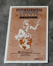 International Cowgirl Magazine 1992 Mark Ricketts Iconografix PROMO Poster FVF