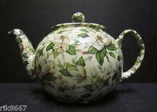 1 HERON CROSS poterie magnolial Chintz anglais 3 tasse pot de thé ou 2 tasses