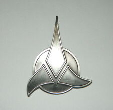Star Trek: The Next Generation Klingon Large Trifoil Logo Pin NEW UNUSED