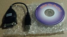 USB to Serial Cable Adapter with Disc