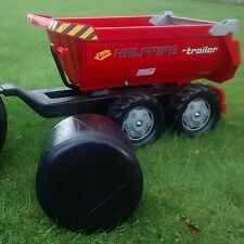 "New ""Pedal Tractor Size"" Heavy Duty Plastic Silage Bale. Mini Toy Bale of Silage"