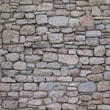 5 SHEETS  stone wall 21x29cm SCALE 1/12  BUMPY EMBOSSED  CODE 3DqS