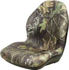 Milsco XB200 Mossy Oak Break-Up Camo Seat - Fits John Deere, Case, Toro, etc.