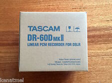 TASCAM DR60D MKII AUDIO RECORDER FOR DSLR,In stock at Melbourne, Warranty, BNIB