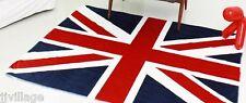 """Union Jack UK Flag Throw Blanket 63*51"""" 160*130 cm fleece-like micofiber"""