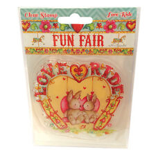 LOVE RIDE - FUN FAIR COLLECTION - CLEAR STAMP - HELZ CUPPLEDITCH