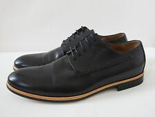 DRIES VAN NOTEN Black Leather OXFORD Shoes 40 US-7