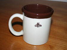 MSRF Inc. Design Studio Ceramic Coffee Mug - Brown Rim and Interior