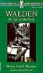 Walden or, Life in the Woods, Thoreau, Henry David, Acceptable Book