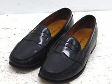 Cole Haan Nike Air Men's black Leather Penny Loafer Shoes-sz 9.5M
