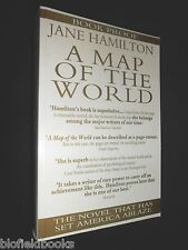 Uncorrected Proof Copy of A Map of the World by Jane Hamilton - 1995-1st - Novel