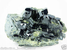 1) Tourmaline Black Natural Crystal On Matrix Gemstone Mineral 222g Pakistan