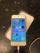 Apple iPod Touch 6th Generation 16gb Blue Faulty Home Button.