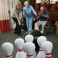 Yinarts Jumbo  inflatable bowling set with 8 bowling pin -extra 2 pins for Bonus