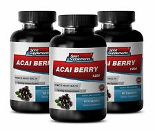 Acai Juice - Acai Berry Extract 1200mg -  Fast Weight Loss Pill 3B