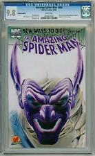 AMAZING SPIDER-MAN #568 ALEX ROSS DYNAMIC FORCES DF NEGATIVE VARIANT CGC 9.8