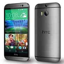 Gris 5.0'' HTC One M8 32GB Unlocked Cuatro Nucleos Android LTE 4G Teléfono Móvil