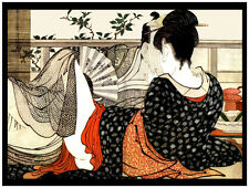 "13x19""Poster Decor.Home Room Interior design.Japan couple erotic sex.10563"