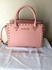 Baby Pink Medium Sized Micheal Kors Studded Selma Bag