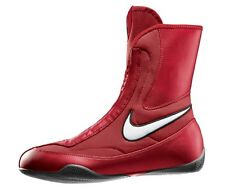 NEW Men's Nike Machomai Mid-Top Boxing Shoes Size: 11 Color: Red